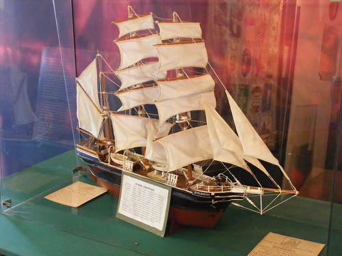 Model of the Jeannie Johnston