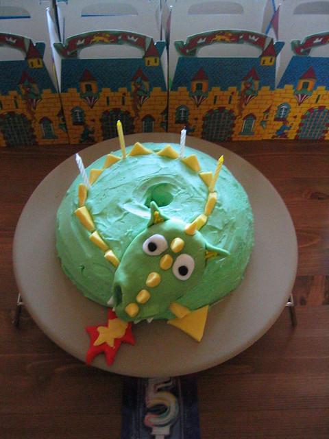 Dragon Castle Cake Ideas