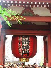 浅草寺-雷門の後
