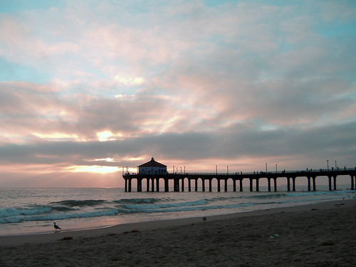 Manhattan Beach Pier Sunset