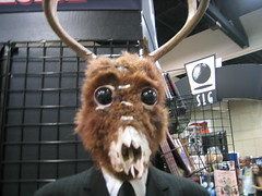 deer monster thing   close up