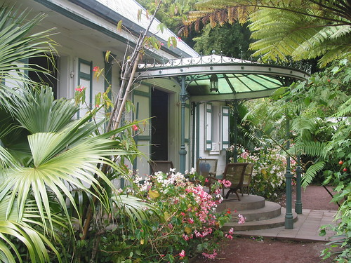 Maison Folio in Salazie, Reunion Island.