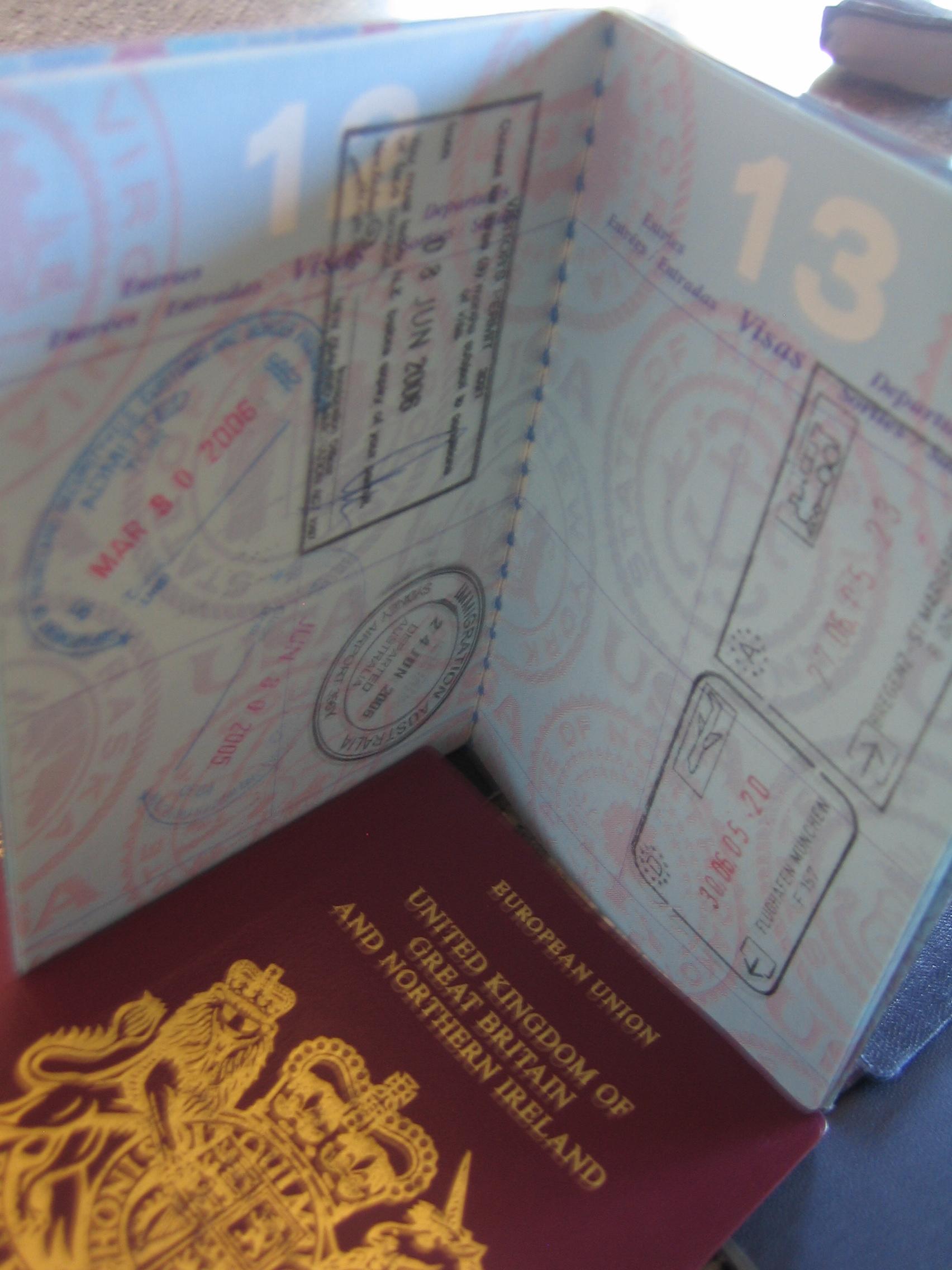 image The passport predicament a spanking punishment