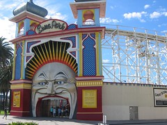 melbourne amusement park