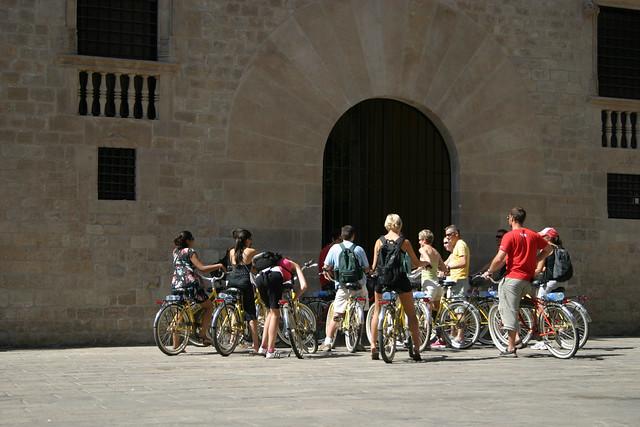 Tour en bicicleta en Barcelona