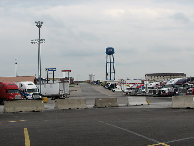Largest Truck Stop http://www.flickr.com/photos/dreadedhill/233504065/