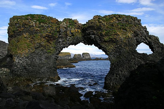 Arnarstapi Natural Arch - West Fjords - Iceland