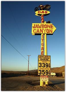 Jawbone Canyon Gas Station