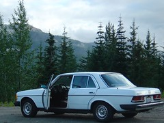 automobile, automotive exterior, vehicle, mercedes-benz w123, mercedes-benz, compact car, sedan, classic car, land vehicle, luxury vehicle,