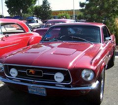 automobile, automotive exterior, vehicle, first generation ford mustang, boss 429, antique car, classic car, land vehicle, muscle car, sports car,
