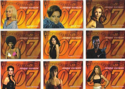 Women of Bond in Motion - Femme Fatales (1:4 packs)