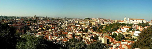 Lisboa: vista desde el Castelo São Jorge