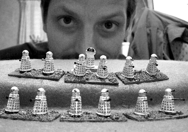 Thirteen Daleks