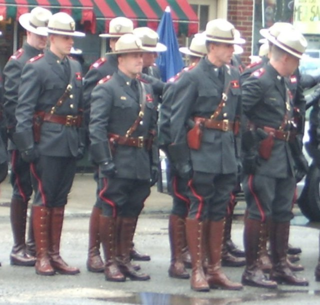 Rhode Island State Police Uniform Boots