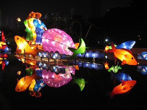 Mid-Autumn Light Festival Reflected