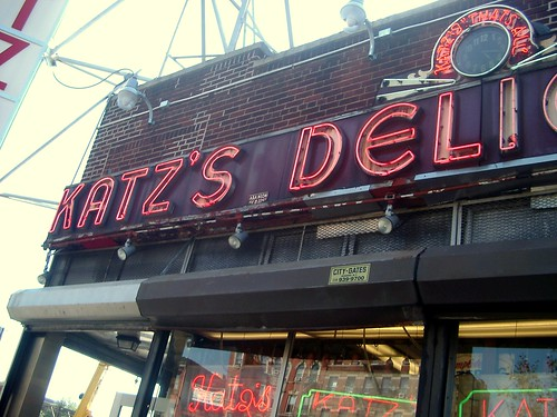 Katz's Deli=When Harry Met Sally
