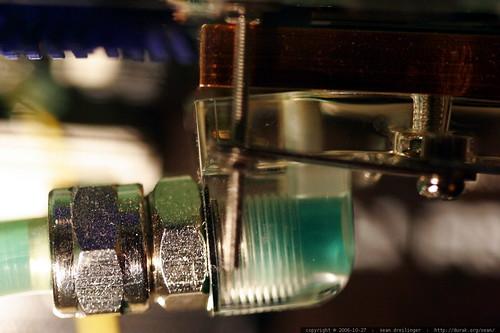 failed vga water block   liquid cooling meltdown    MG 3046