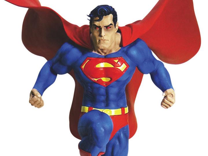 霸氣雷射紅眼姿態現身!! DC Collectibles DC 設計師系列【超人by Jim Lee】DC Designer Series Superman(Jim Lee) 全身雕像作品