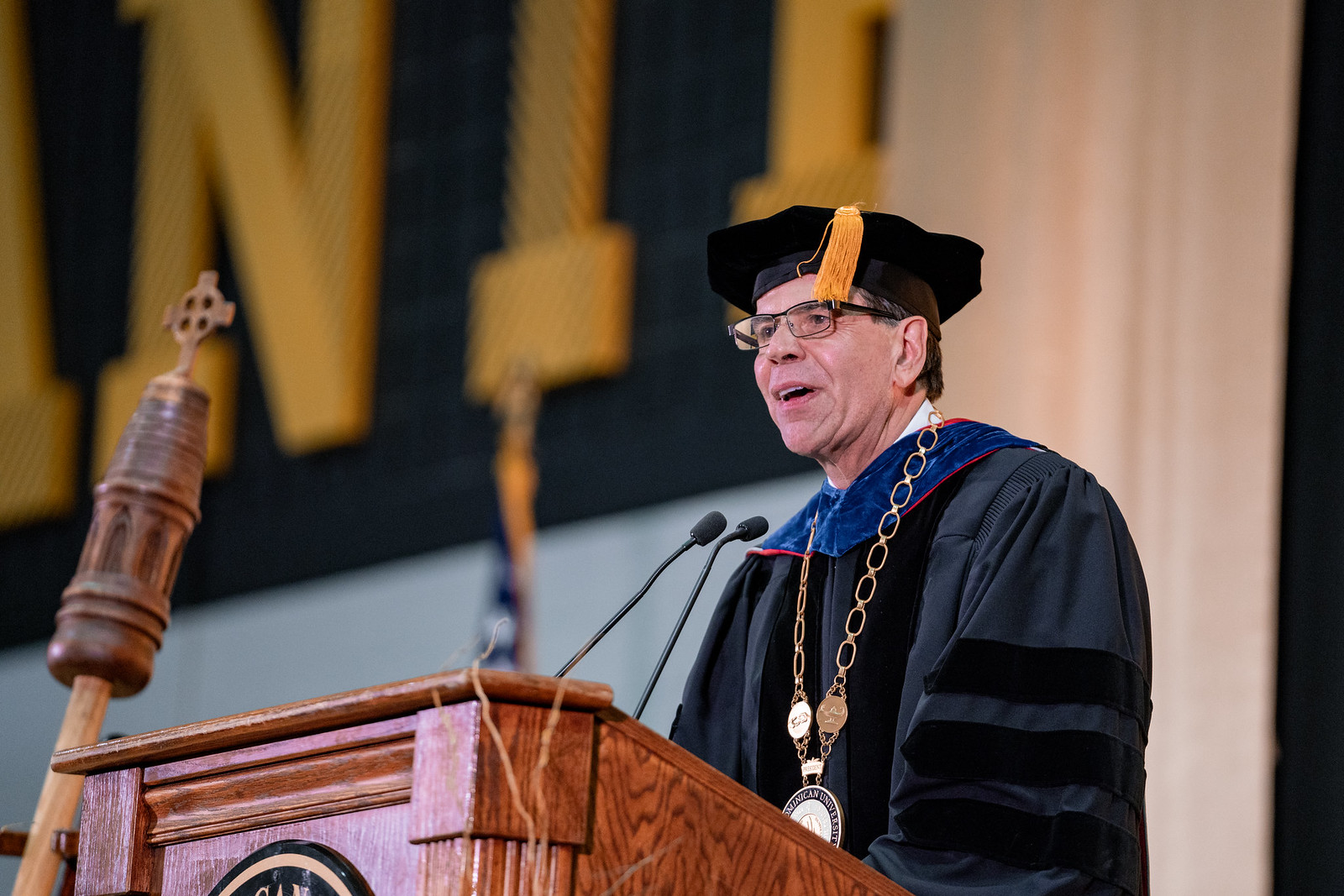 The Inauguration of Dr. Robert A. Gervasi