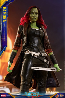 宇宙最危險的女人駕到!! Hot Toys – MMS483 –《星際異攻隊2》葛摩菈 Gamora 1/6 比例人偶作品
