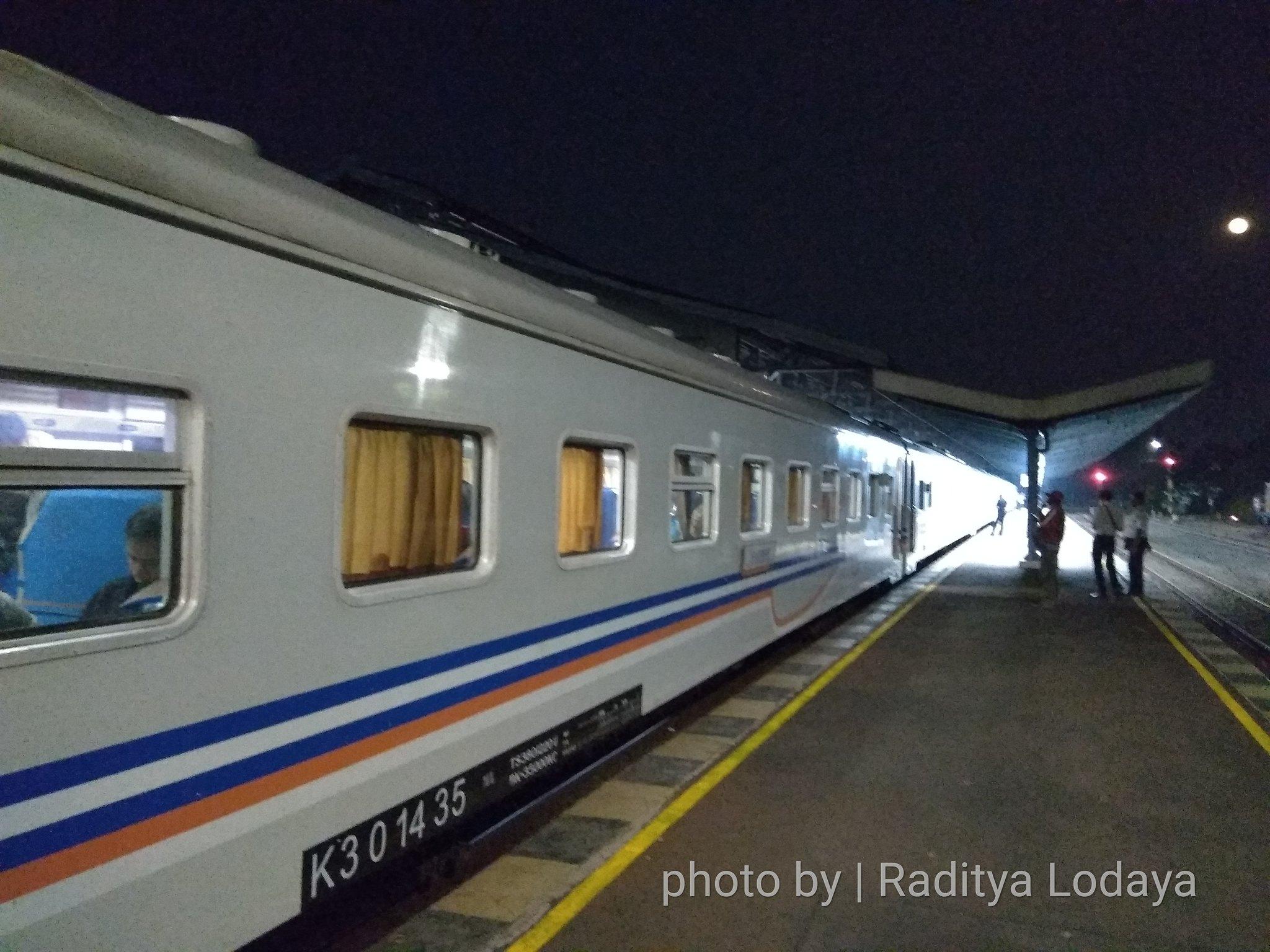 08 TRIP REPORT KERETA API JAYABAYA 3(TEGAL CEPU) - STASIUN WELERI 1
