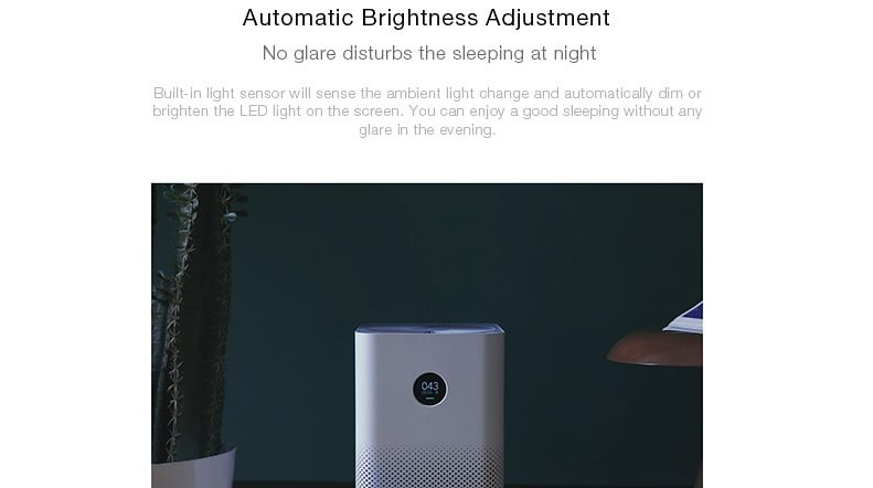 Xiaomi OLED Display Smart Air Purifier 2S レビュー (5)