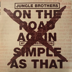 JUNGLE BROTHERS:ON THE ROAD AGAIN(JACKET A)