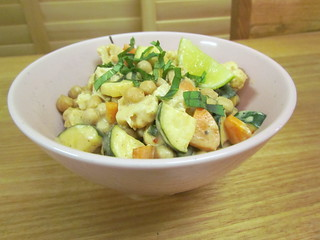 Thai Chickpea Almond Curry