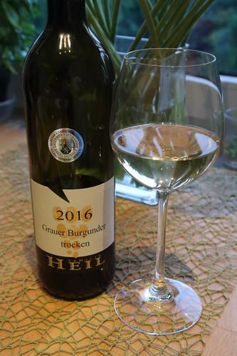 2016er Grauer Burgunder (vom Weingut der Familie Heil)