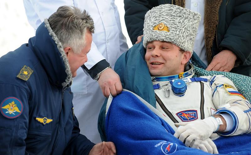 KAZAKHSTAN-SPACE-LANDING