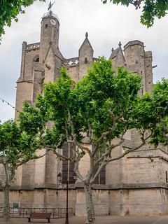 Collégiale Saint-Étienne, 13./14. Jh., in Capestang