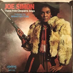 JOE SIMON:THEME FROM CLEOPATRA JONES(JACKET B)