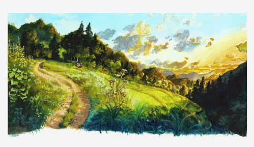 Ghibli Background Study 1st Attempt cropped resize