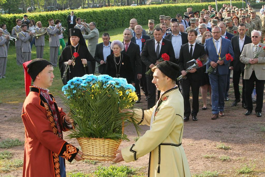 День пам'яті та примирення 8.05.2018
