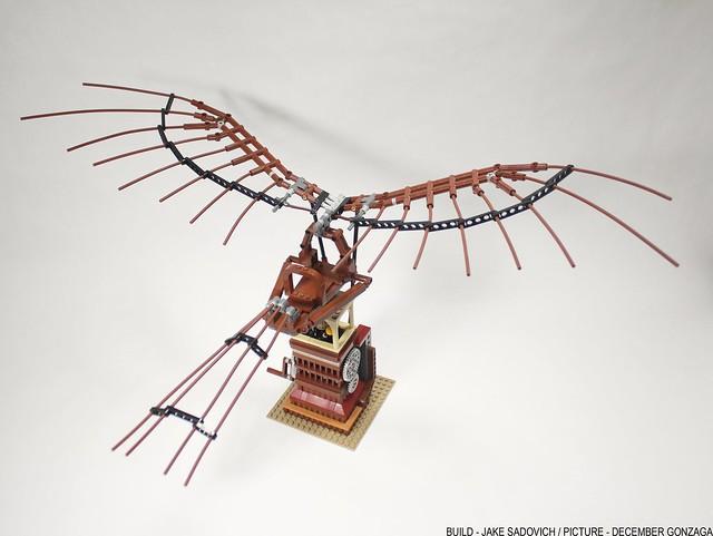 Da Vinci's Ornathopter