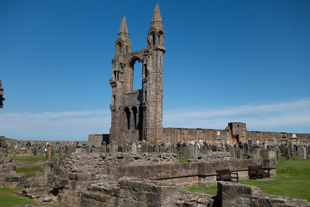 Catedral de Saint Andrews viajar a Escocia