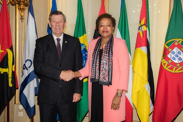18.04.Ministro das Relações Exteriores do Uruguai visitou Sede CPLP