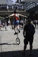Street performer Covent Garden