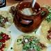 Mixed Taco Dinner, Tlaquepaque La Casa de la Exquisite Birria, Mexico City, Mexico por dannymfoster