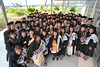 "Students pause for a group photo prior to the commencement ceremony on Saturday, May 12.   Go the Hawaii Community College's Flickr album for more photos from the Palamanui ceremony: <a href=""https://www.flickr.com/photos/53092216@N07/albums/72157668982722478"">www.flickr.com/photos/53092216@N07/albums/72157668982722478</a>."
