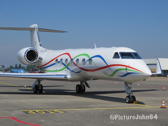 TVPS ARS Inc Trustee Gulfstream G550 (N676AS) at Schiphol East