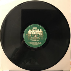 JUNGLE BROTHERS:BLACK IS BLACK(RECORD SIDE-A)
