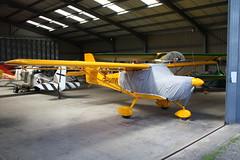 G-HAMW Aeropro Eurofox3K [52117] Popham 050518