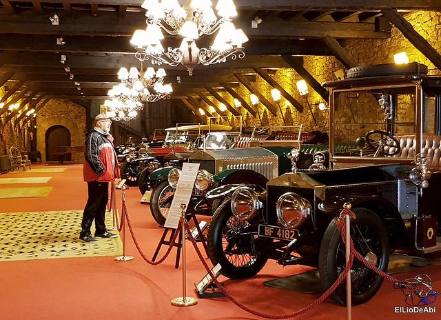 Los Rolls Royce y otros clásicos de la Torre de Loizaga 1