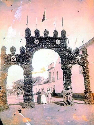 1898. Portada de la Feria de Mayo