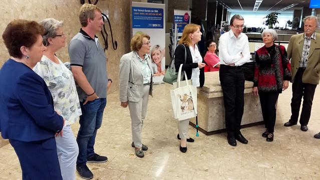 Seniorenrat Stadt Bruchsal besucht die BNN