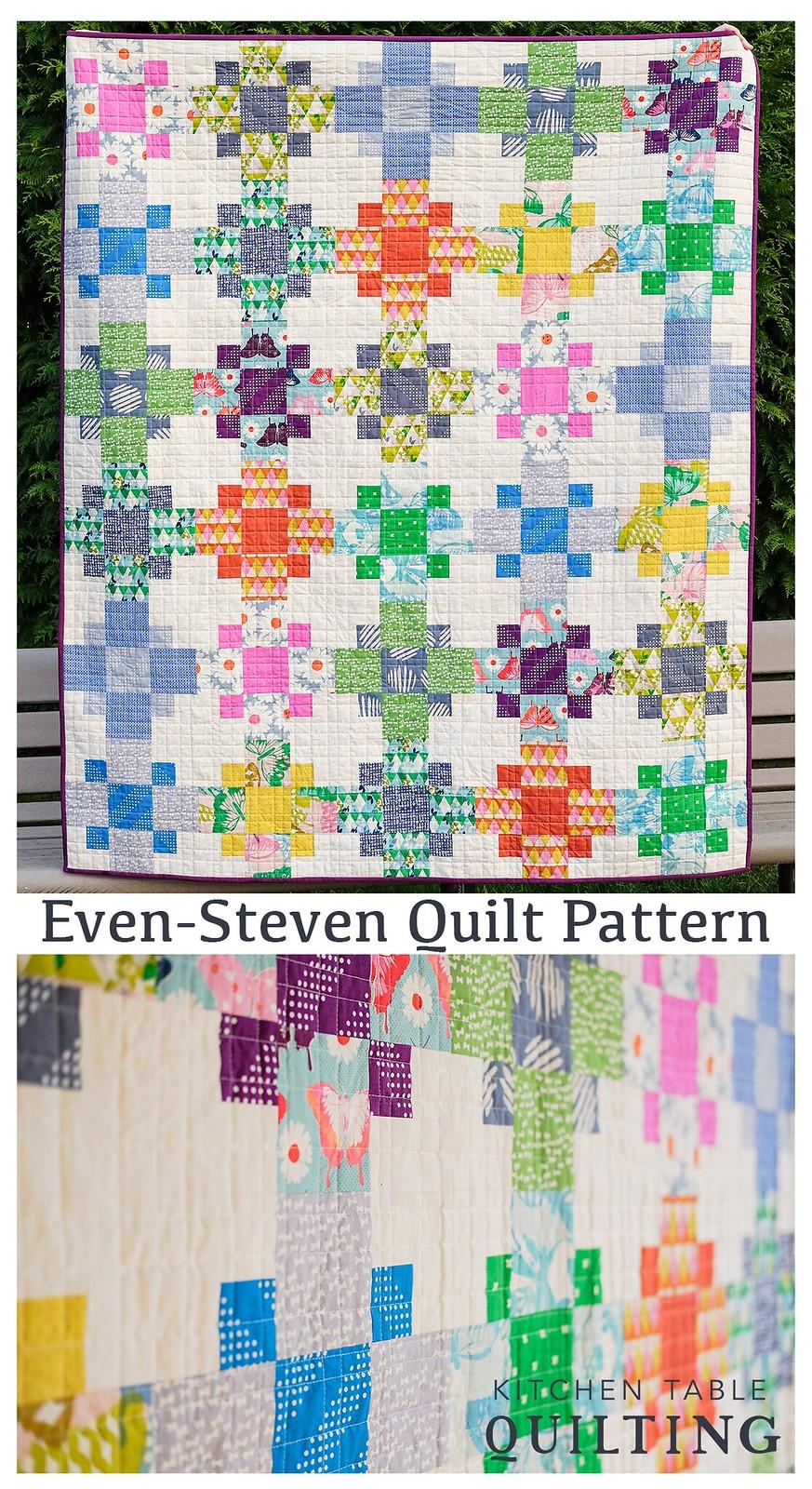 Even Steven Quilt Pattern