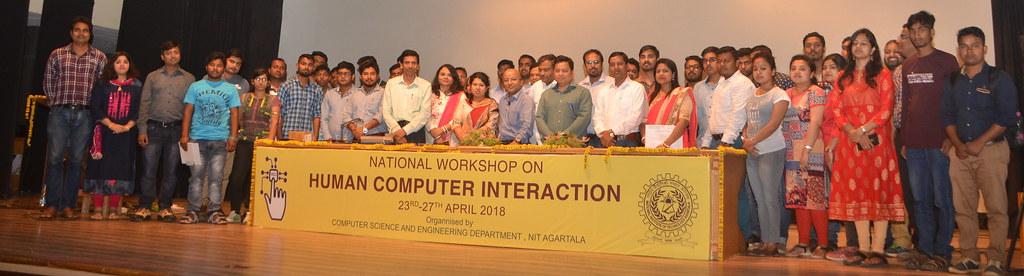 WSHCI 2018: 5 Days National Workshop on HCI