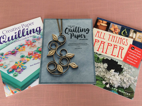 Paper Craf and Quillingt Project-Based Books by Ann Martin