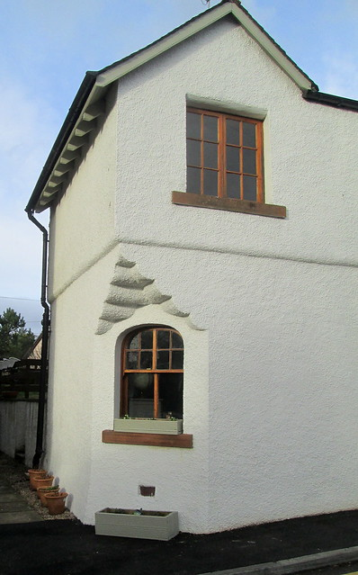 A House in Doune Close-up
